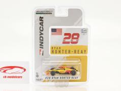 Ryan Hunter-Reay Honda #28 IndyCar Series 2021 1:64 Greenlight