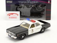 Dodge Monaco Metropolitan Police 1977 电影 Terminator (1984) 1:24 Greenlight
