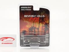 Dodge Diplomat 1982 电影 Beverly Hills Cop II (1987) 深棕色 1:64 Greenlight