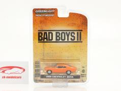 Chevrolet Nova 1968 电影 Bad Boys II (2003) 橘子 1:64 Greenlight