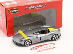 Ferrari Monza SP1 建设年份 2019 银灰 金属的 / 黄色 1:43 Bburago