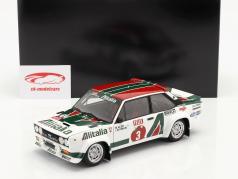 Fiat 131 Abarth #3 优胜者 Rallye 1000 Lakes 1978 Alen, Kivimäki 1:18 Kyosho