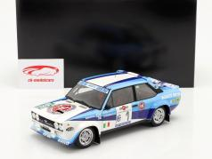 Fiat 131 Abarth #1 优胜者 Rallye Costa Smeralda 1981 Alen, Kivimäki 1:18 Kyosho