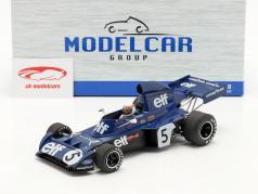 J. Stewart Tyrrell 006 #5 vencedora Monaco Fórmula 1 Campeão mundial 1973 1:18 Model Car Group