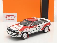 Toyota Celica GT-4 (ST165) #2 第三名 Rallye San Remo 1990 Sainz, Moya 1:18 Ixo