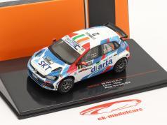 Volkswagen VW Polo GTI R5 #2 vinder Rallye Ypres 2019 Breen, Nagle 1:43 Ixo