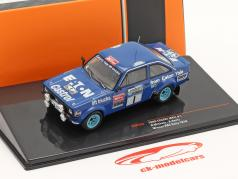 Ford Escort RS 1800 MK II #1 优胜者 Lombard RAC Rallye 1979 Mikkola, Hertz 1:43 Ixo