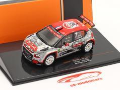 Citroen C3 R5 #30 Rallye Monza 2020 Rossel, Fulcrand 1:43 Ixo