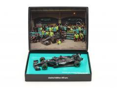 L. Hamilton Mercedes-AMG F1 W11 #44 vinder tyrkisk GP formel 1 Verdensmester 2020 1:43 Minichamps