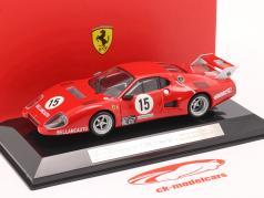 Ferrari 512 BB #15 优胜者 GTX类 1000km Monza 1981 1:43 Bburago