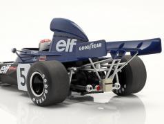 J. Stewart Tyrrell 006 #5 vincitore Monaco formula 1 Campione del mondo 1973 1:18 Model Car Group