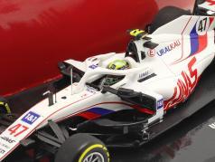 Mick Schumacher Haas VF-21 #47 巴林 GP 公式 1 2021 1:43 Minichamps