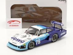 Porsche 935 Moby Dick #79 第四名 24h LeMans 1982 Fitzpatrick, Hobbs 1:18 Solido