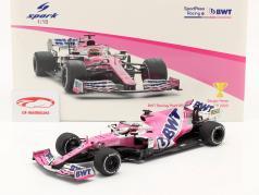 Sergio Perez Racing Point RP20 #11 优胜者 萨基尔 GP 公式 1 2020 1:18 Spark
