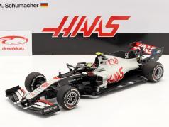 Mick Schumacher Haas VF-20 #50 试驾 Abu Dhabi F1 2020 1:18 Minichamps