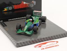Michael Schumacher Jordan 191 #32 1. GP Race Belgien GP formel 1 1991 1:43 Ixo
