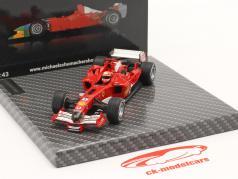 Michael Schumacher Ferrari F2005 #1 巴林 GP 公式 1 2005 1:43 Ixo