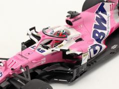 Sergio Perez Racing Point RP20 #11 Gagnant Sachir GP formule 1 2020 1:18 Spark