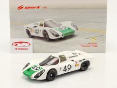 Porsche 907 C #49 优胜者 12h Sebring 1968 Siffert, Herrmann 1:18 Spark