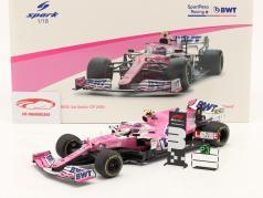 Lance Stroll Racing Point RP20 #18 第三名 萨基尔 GP 公式 1 2020 1:18 Spark