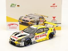 BMW M6 GT3 #99 优胜者 24h Nürburgring 2020 Rowe Racing 1:18 Spark