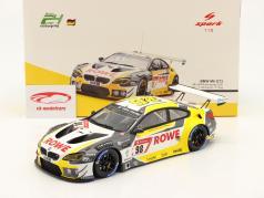 BMW M6 GT3 #98 第四名 24h Nürburgring 2020 Rowe Racing 1:18 Spark