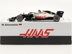 Mick Schumacher Haas VF-20 #50 Passeio de teste Abu Dhabi F1 2020 1:18 Minichamps