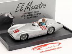 J. M. Fangio Mercedes-Benz W196 #18 法语 GP F1 世界冠军 1954 1:43 Brumm