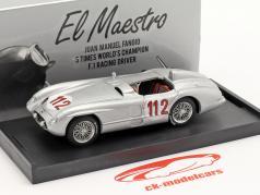 Mercedes-Benz 300 SLR #112 第二 Targa Florio 1955 Fangio, Kling 1:43 哼
