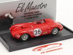 Lancia D24 #36 优胜者 Carrera Panamericana 1953 Fangio, Bronzoni 1:43 哼