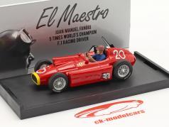 J.M. Fangio / P. Collins Ferrari D50 #20 第二 摩纳哥 GP 公式 1 1956 1:43 Brumm