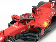 Carlos Sainz jr. Ferrari SF21 #55 公式 1 2021 1:18 Bburago