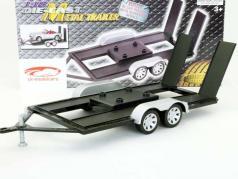 Trailer para carros modelo em escala 1:18 por Motormax