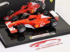 M. Schumacher F2002 n ° 1 GP France de Formule 1 2002 1:43 HotWheels Elite