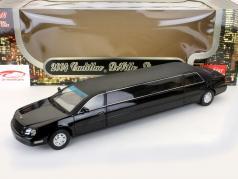 Cadillac DeVille Limousine ano de construção 2004 preto 1:18 SunStar