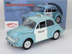 Morris Minor 1000 Panda Carro polícia UK ano 1963 1:12 SunStar
