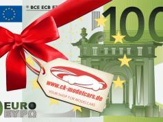 100 Euro gavekort