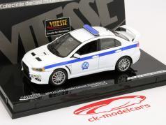 Mitsubishi Lancer Evolution X de Policía de Grecia 1:43 Vitesse