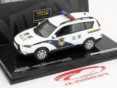 Mitsubishi Outlander China, la policía 1:43 Vitesse