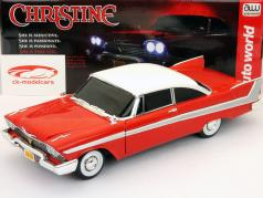 Plymouth Fury year 1958 Movie Christine (1983) red / White 1:18 AutoWorld