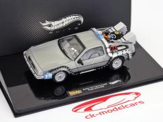 DeLorean DMC-12 Back to the Future 1:43 HotWheels Elite
