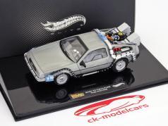 DeLorean DMC-12 Tilbage til fremtiden 1:43 Hotwheels Elite