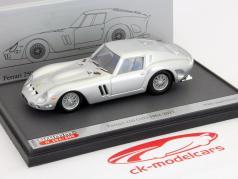 Ferrari 250 GTO construído em 1962-2012 prata 1:43 Brumm