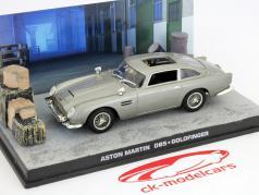 Aston Martin DB5 James Bond Movie Car Goldfinger grau 1:43 Ixo