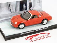 Filme Ford Thunderbird James Bond Die Another Day laranja Car 1:43 Ixo