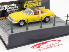 Triumph Stag Car James Bond movie Diamonds Are Forever yellow 1:43 Ixo