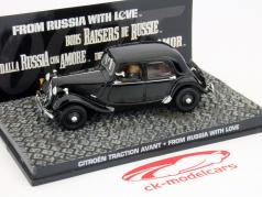 Citroen Traction Avant auto James Bond film From Russia with Love 1:43 Ixo