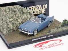 Sunbeam Alpine Car James Bond movie Dr. No 007 Violet 1:43 Ixo