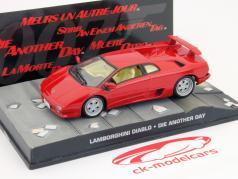 Lamborghini Diablo Car James Bond movie Die Another Day red 1:43 Ixo