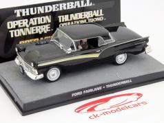 Ford Fairlane Car James Bond movie Thunderball 1:43 Ixo